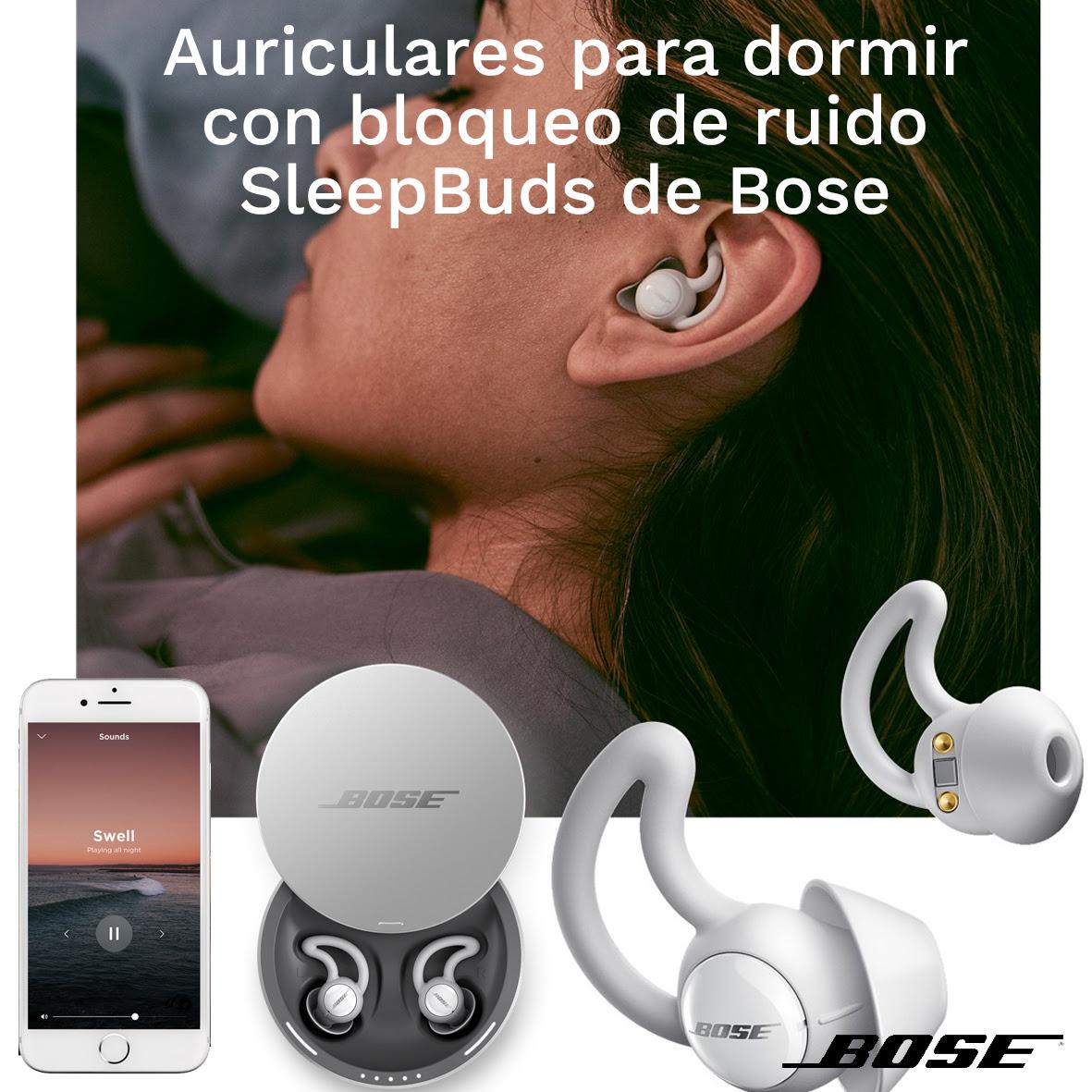 Auriculares para dormir SleepBuds de Bosé